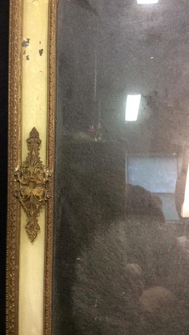 Antique Victorian Painted Gilded Picture Frame - 4