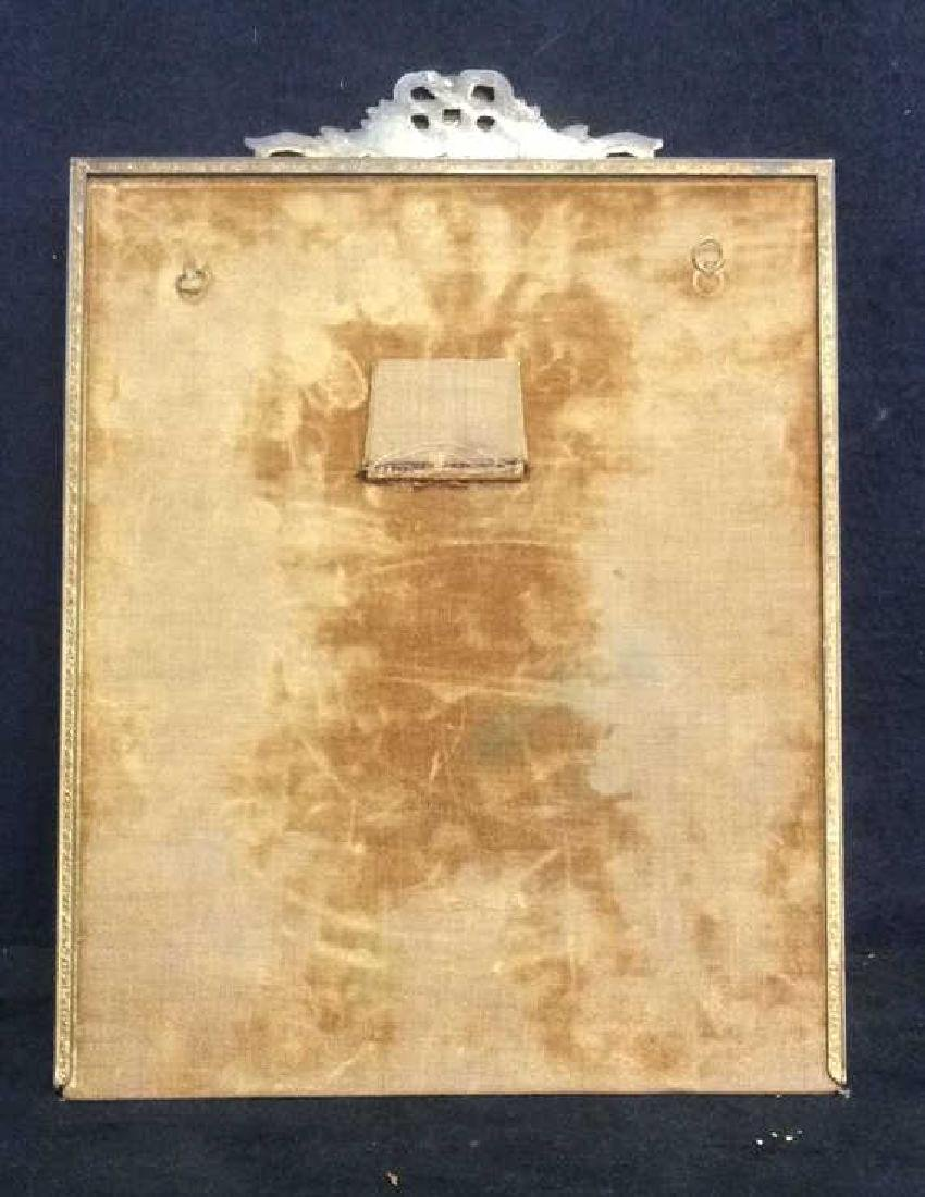 Antique Victorian Painted Gilded Picture Frame - 7
