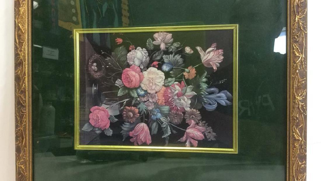 Framed and Matted Botanical Print - 2