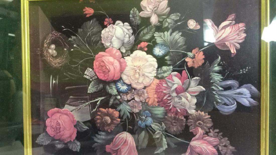 Framed and Matted Botanical Print - 4