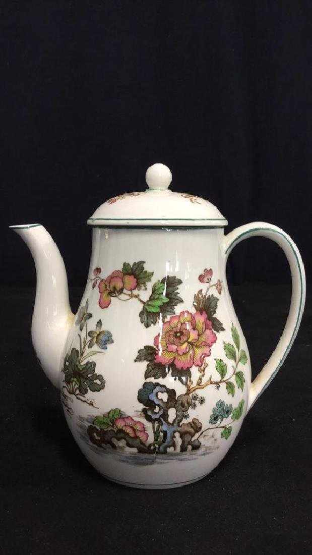 Lot 2 Wedgwood Teapot And Grimwades Pitcher - 2