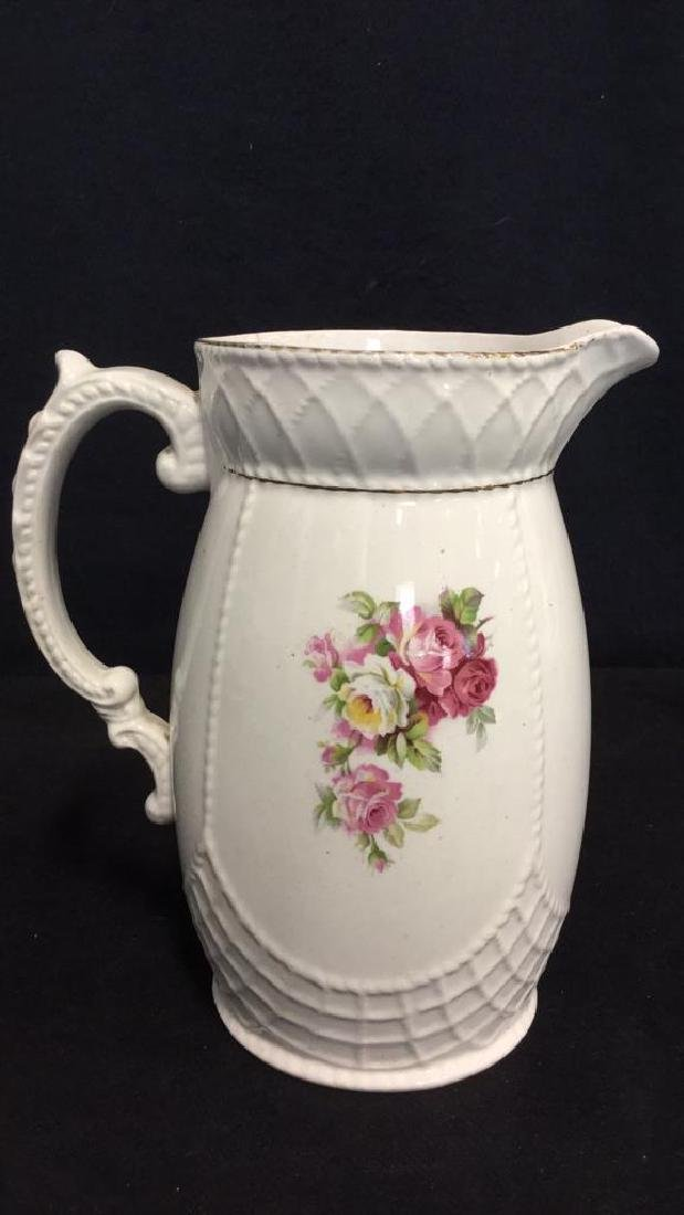 Lot 2 Wedgwood Teapot And Grimwades Pitcher - 9
