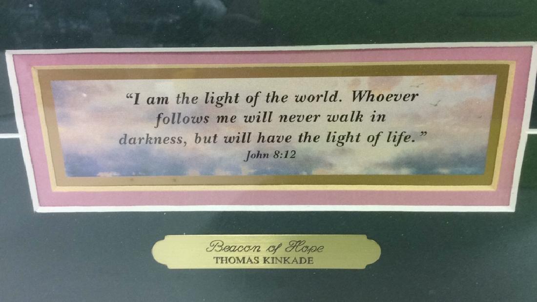 BEACON OF HOPE Thomas Kinkade Print - 6
