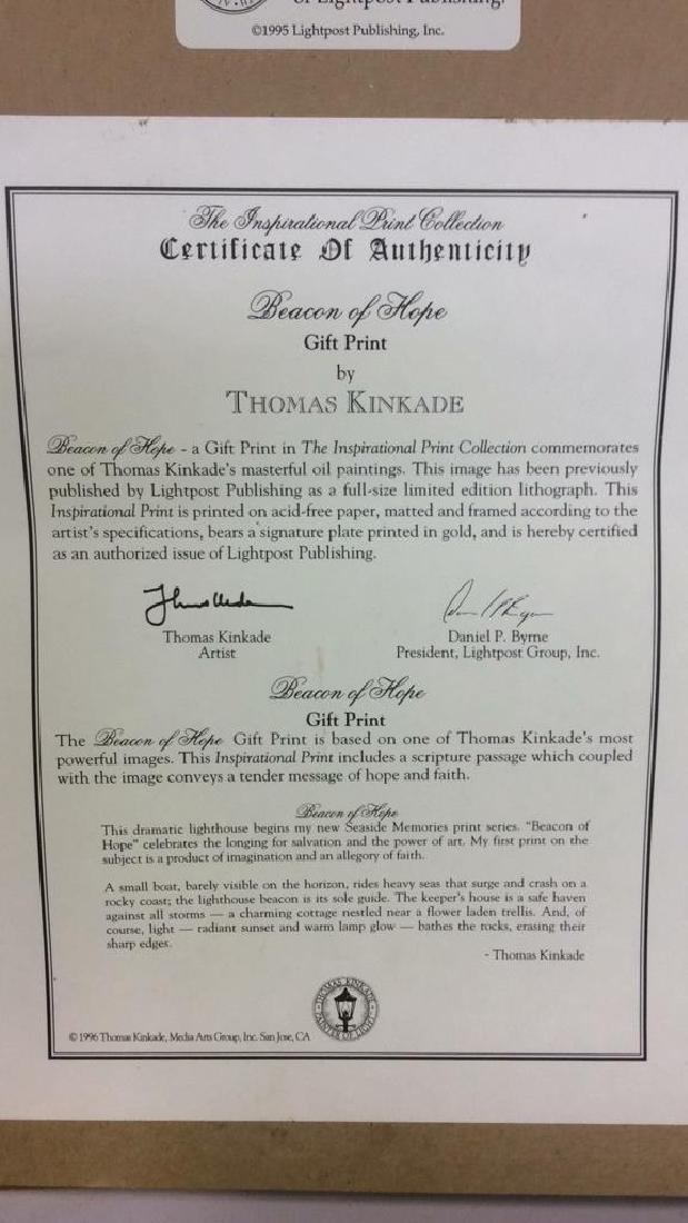 BEACON OF HOPE Thomas Kinkade Print - 8