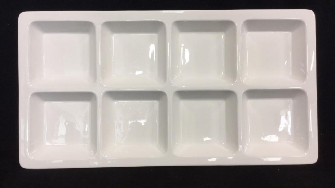 White Rectangular Ceramic Serving Dish
