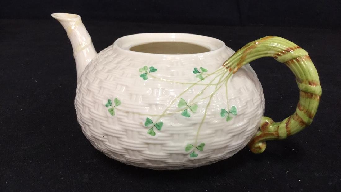 Lot 7 Belleek Irish Porcelain Ceramic - 10