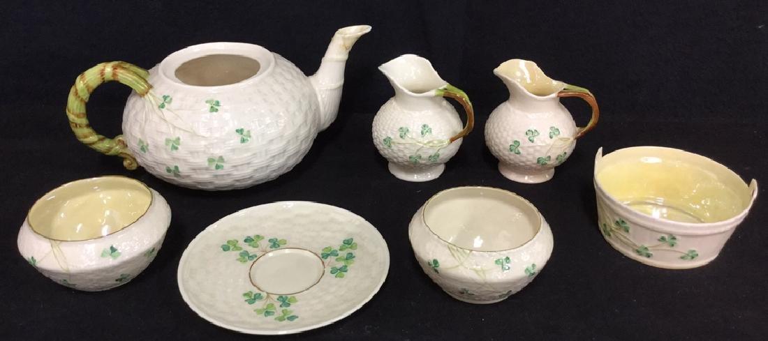 Lot 7 Belleek Irish Porcelain Ceramic