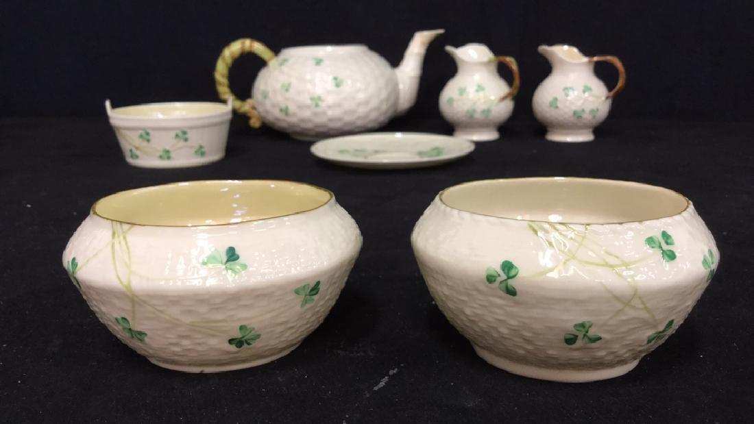 Lot 7 Belleek Irish Porcelain Ceramic - 3