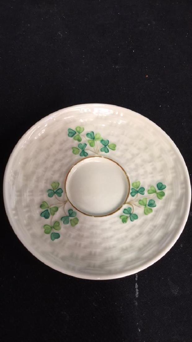 Lot 7 Belleek Irish Porcelain Ceramic - 4