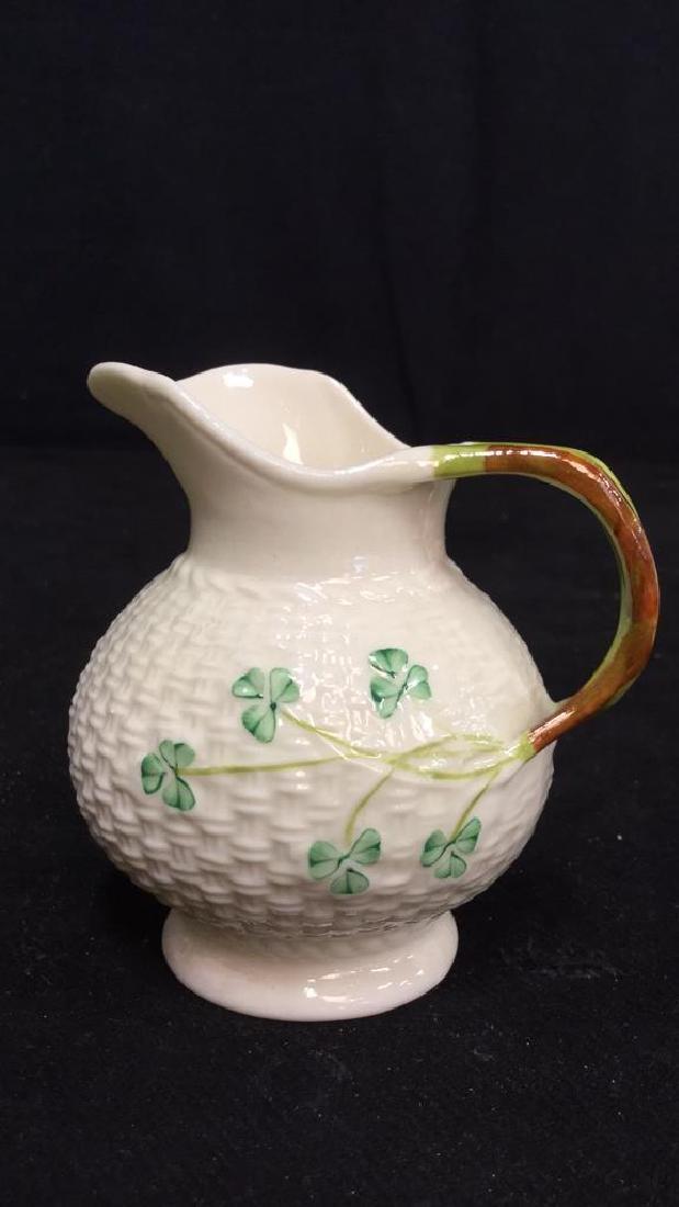 Lot 7 Belleek Irish Porcelain Ceramic - 6