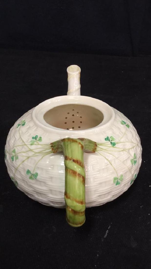 Lot 7 Belleek Irish Porcelain Ceramic - 9