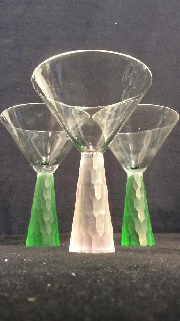 Lot 7 Assorted Beverage Glasses - 3