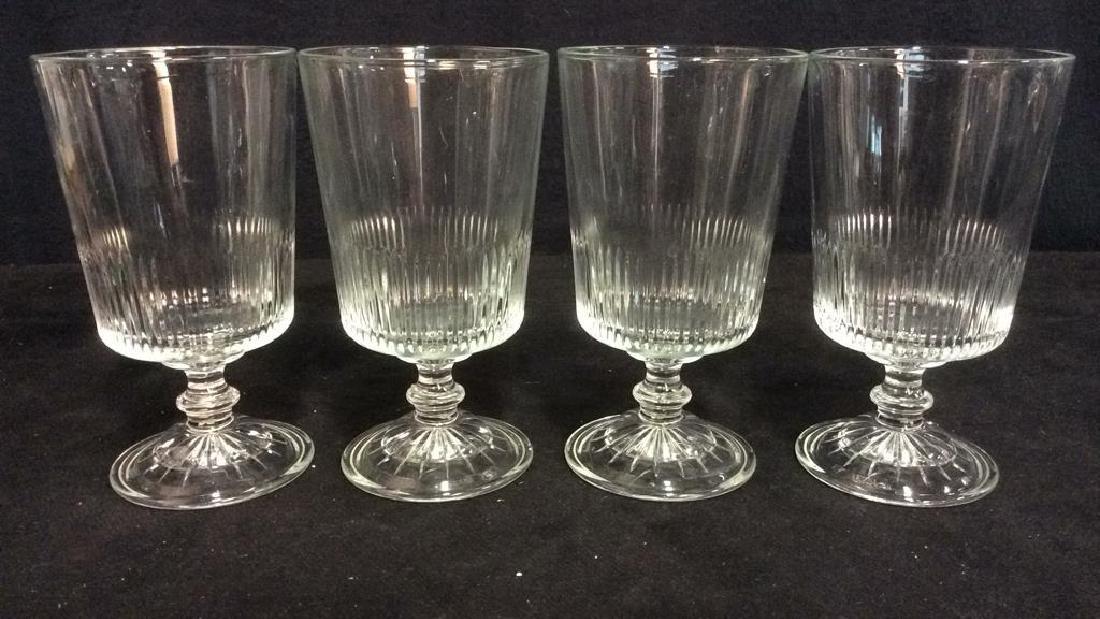 Lot 7 Assorted Beverage Glasses - 4