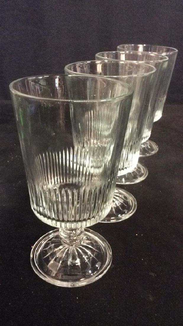 Lot 7 Assorted Beverage Glasses - 6