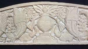 Intricately Carved Wall Hanging