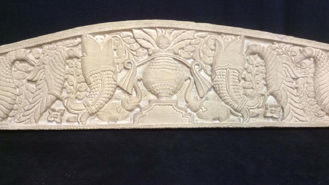 Intricately Carved Wall Hanging - 3