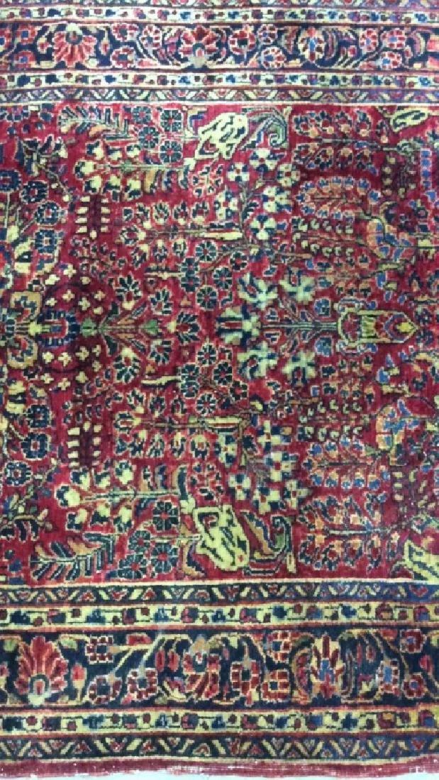 Handmade Intricately Detailed Wool Rug - 10