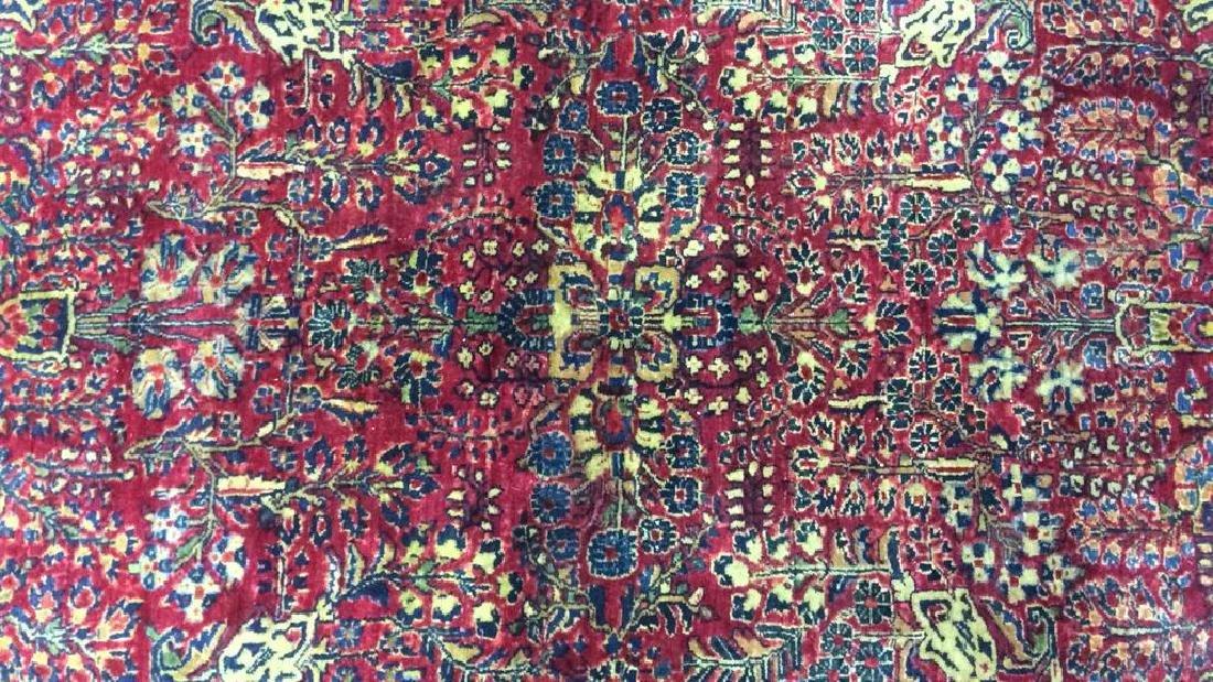 Handmade Intricately Detailed Wool Rug