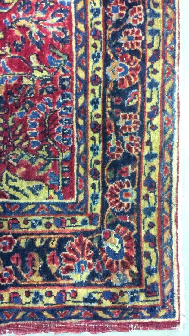 Handmade Intricately Detailed Wool Rug - 5