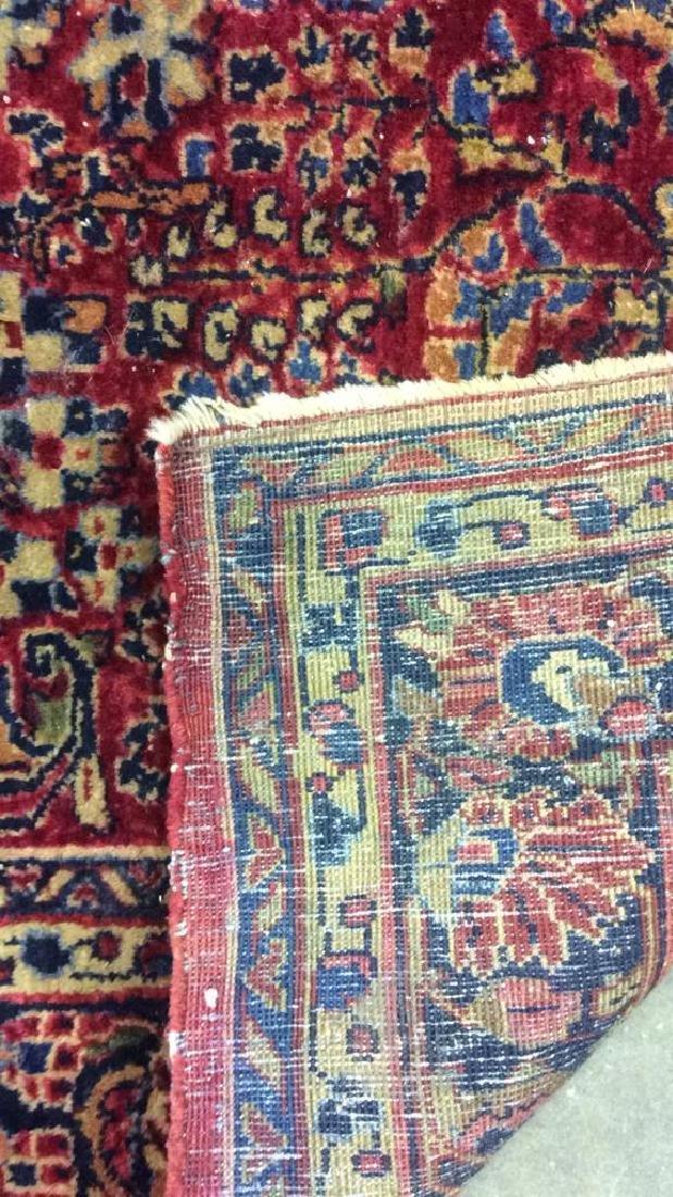 Handmade Intricately Detailed Wool Rug - 6