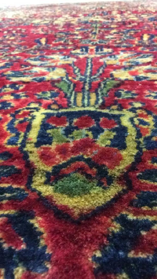 Handmade Intricately Detailed Wool Rug - 9