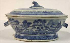 Antique Chinese Export Canton Turreen