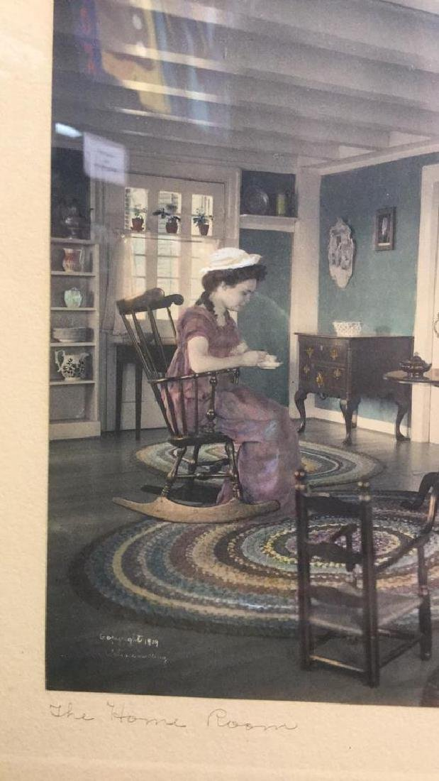 Pair Of Wallace Nutting Hand Colored Prints - 3