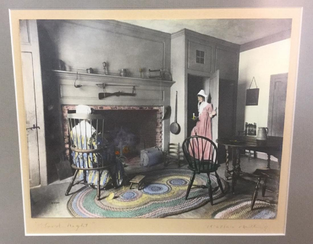 Pair Of Wallace Nutting Hand Colored Prints - 7