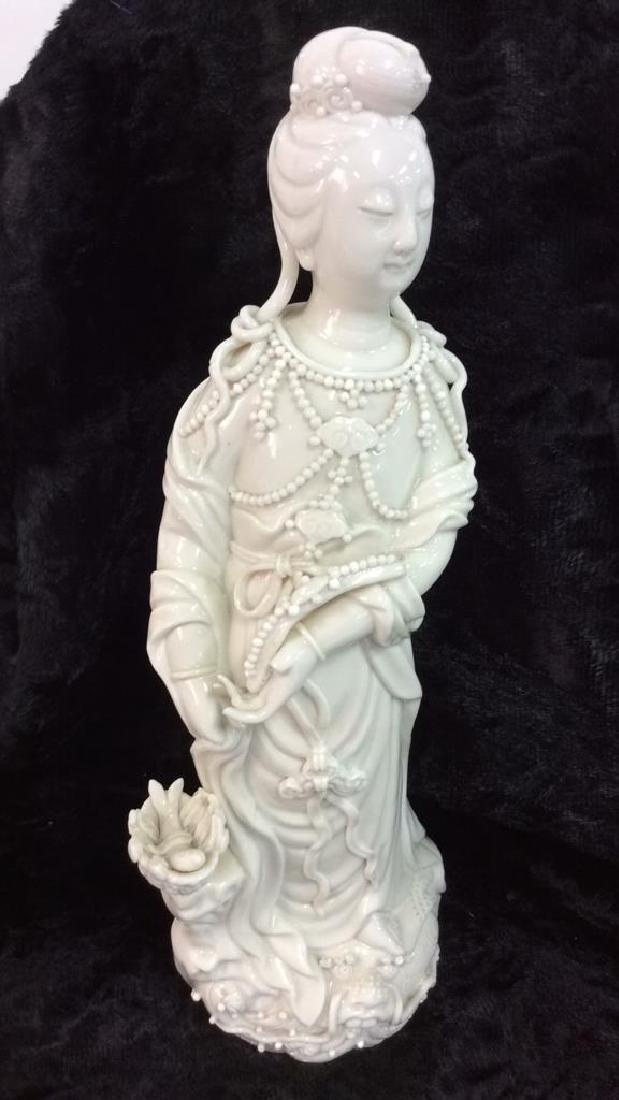 Vintage Ceramic Oriental Porcelain Figure