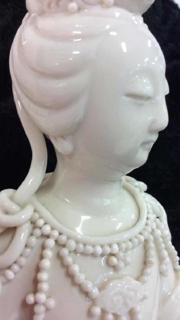Vintage Ceramic Oriental Porcelain Figure - 3