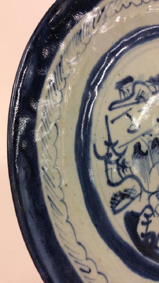 Pair Antique Chinese Export Canton Plates - 8