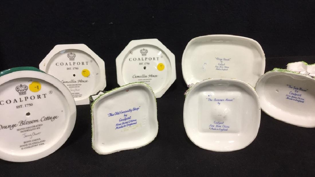 Set Of 7 Coalport Hand Painted China Collectibles - 2