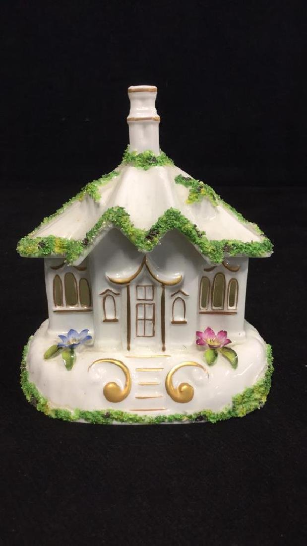 Set Of 7 Coalport Hand Painted China Collectibles - 4