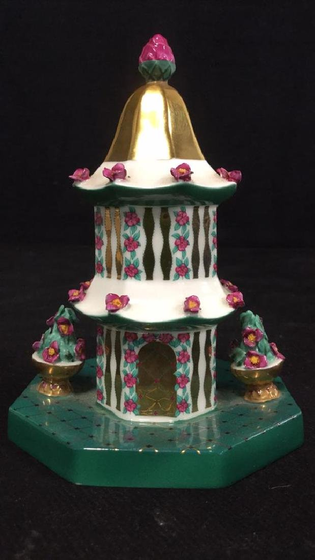 Set Of 7 Coalport Hand Painted China Collectibles - 5