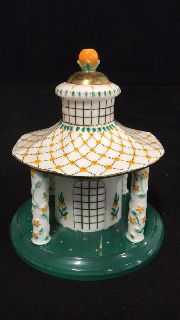 Set Of 7 Coalport Hand Painted China Collectibles - 8