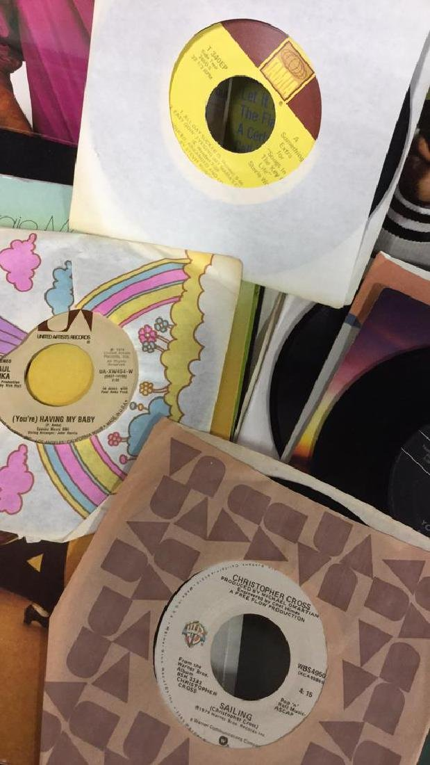 Lot 40 Mixed Vintage Vinyl Records - 5