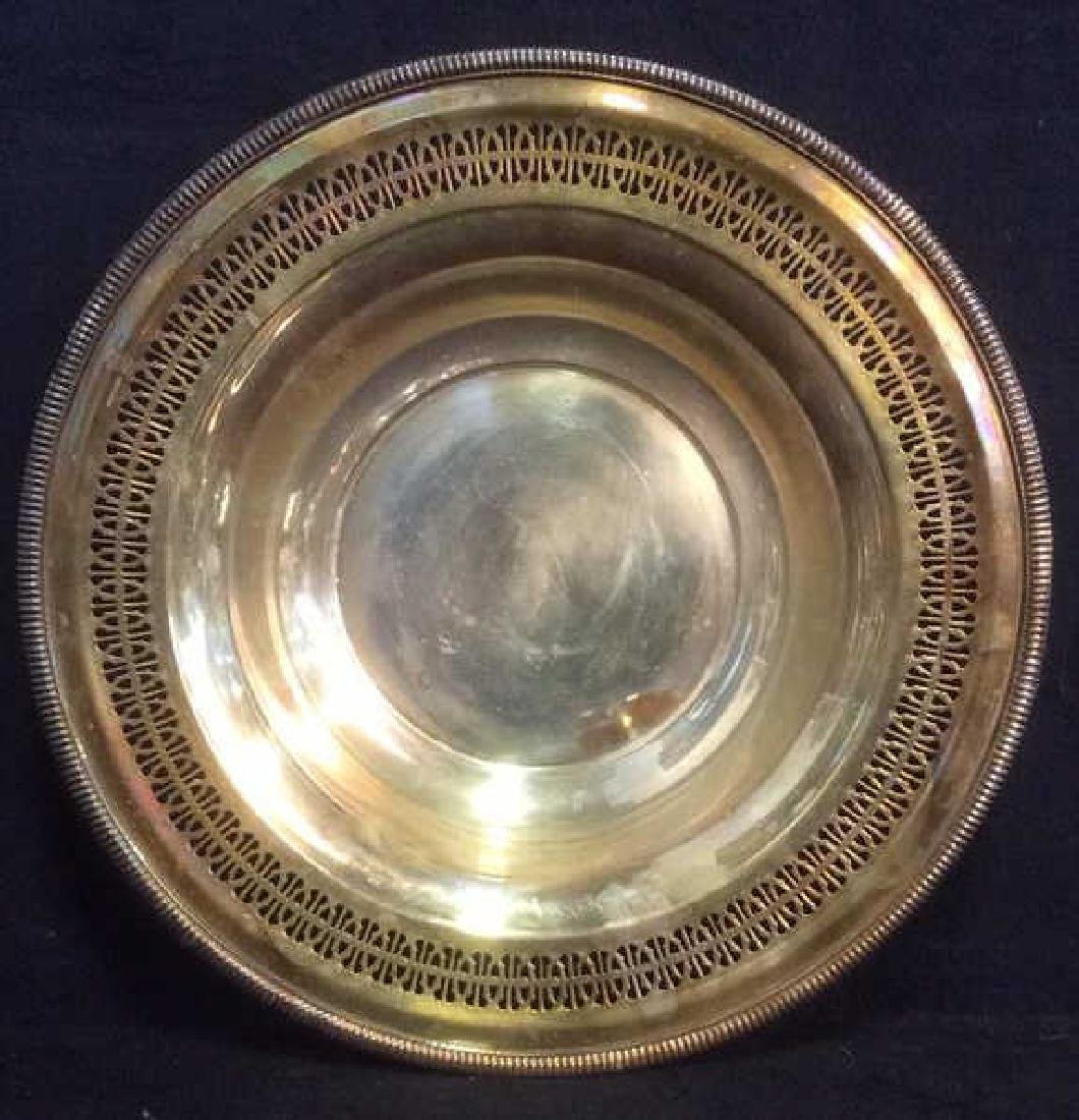 Lot 14 Silver Toned Tabletop Accessories - 9