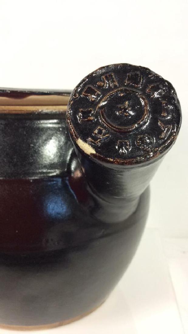 Long Handled Glazed Ceramic Teapot Israel - 4