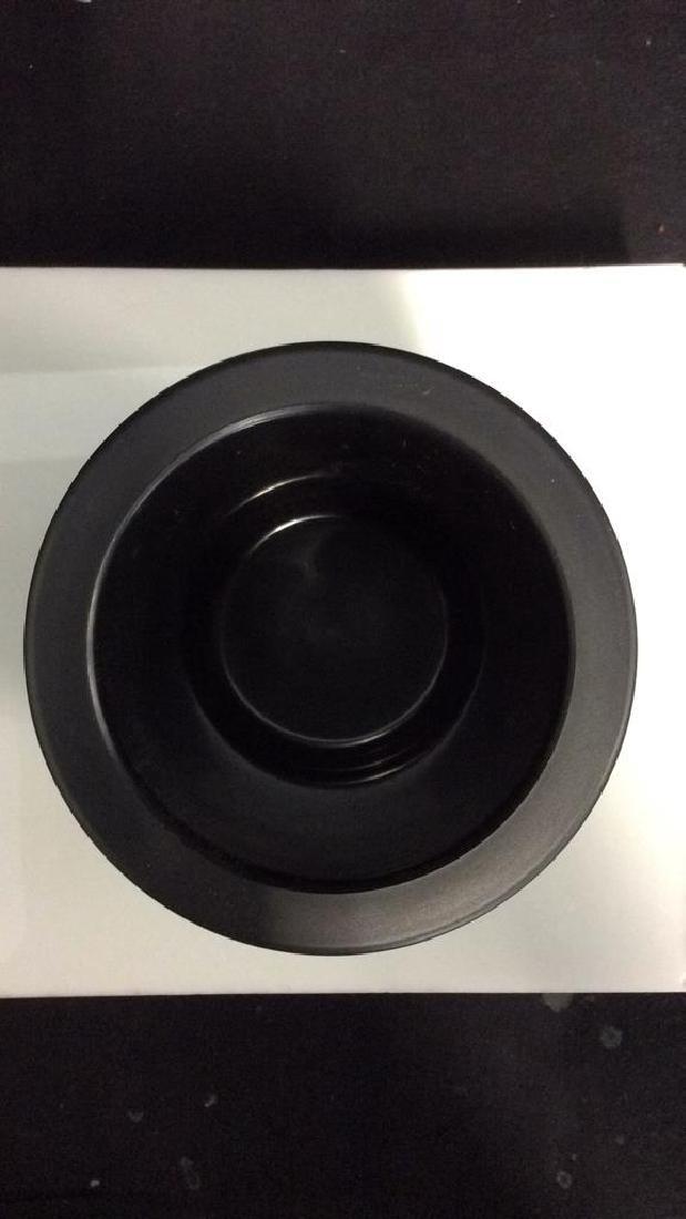 CADDYO Black Toned Cylindrical Wine Holder - 3
