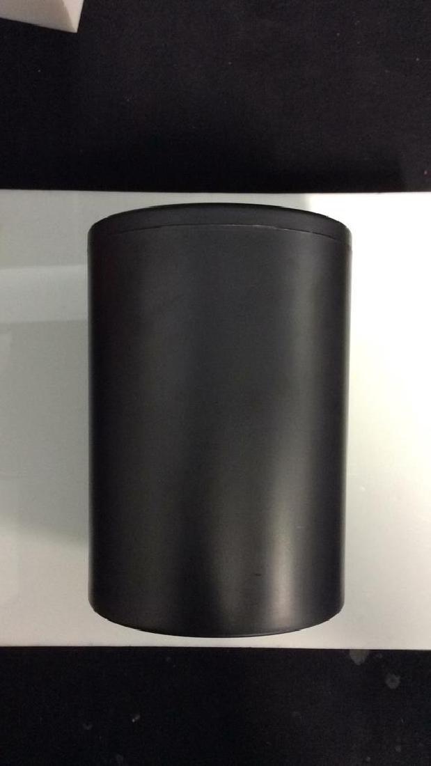 CADDYO Black Toned Cylindrical Wine Holder - 4
