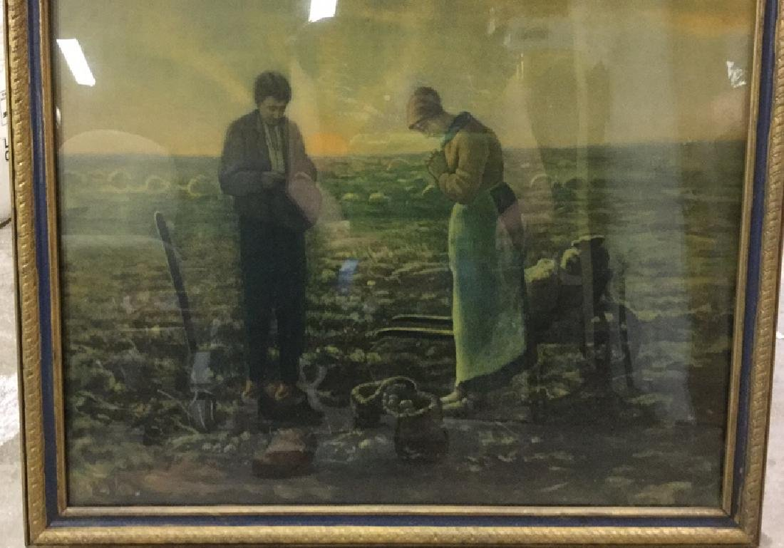 Framed Print Of The Angelus by Millet