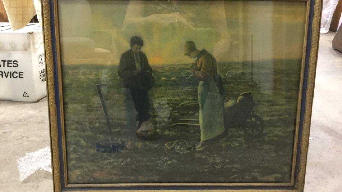 Framed Print Of The Angelus by Millet - 2