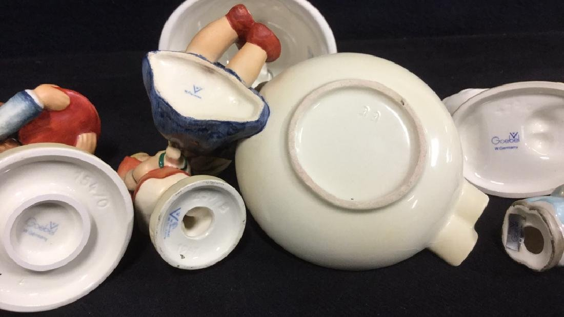 Lot 6 M J Hummel Collectibles West Germany - 2