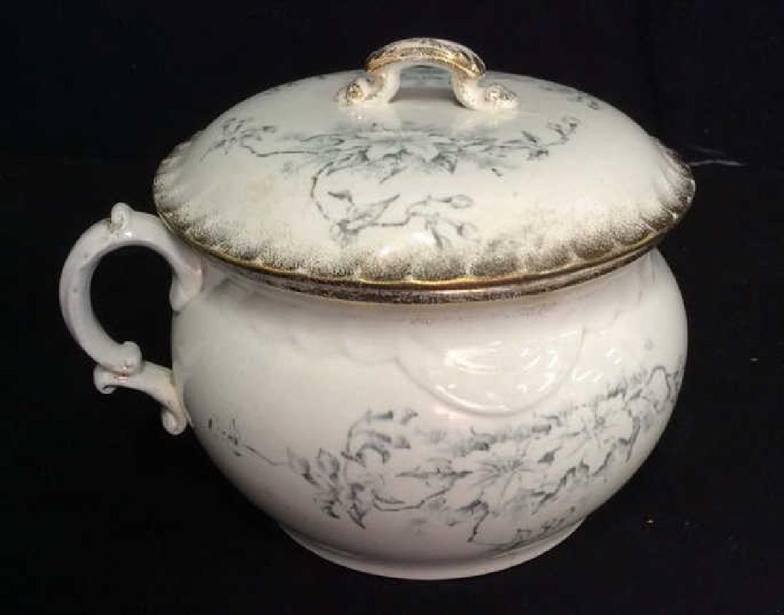 Vintage Porcelain Chamber Pot