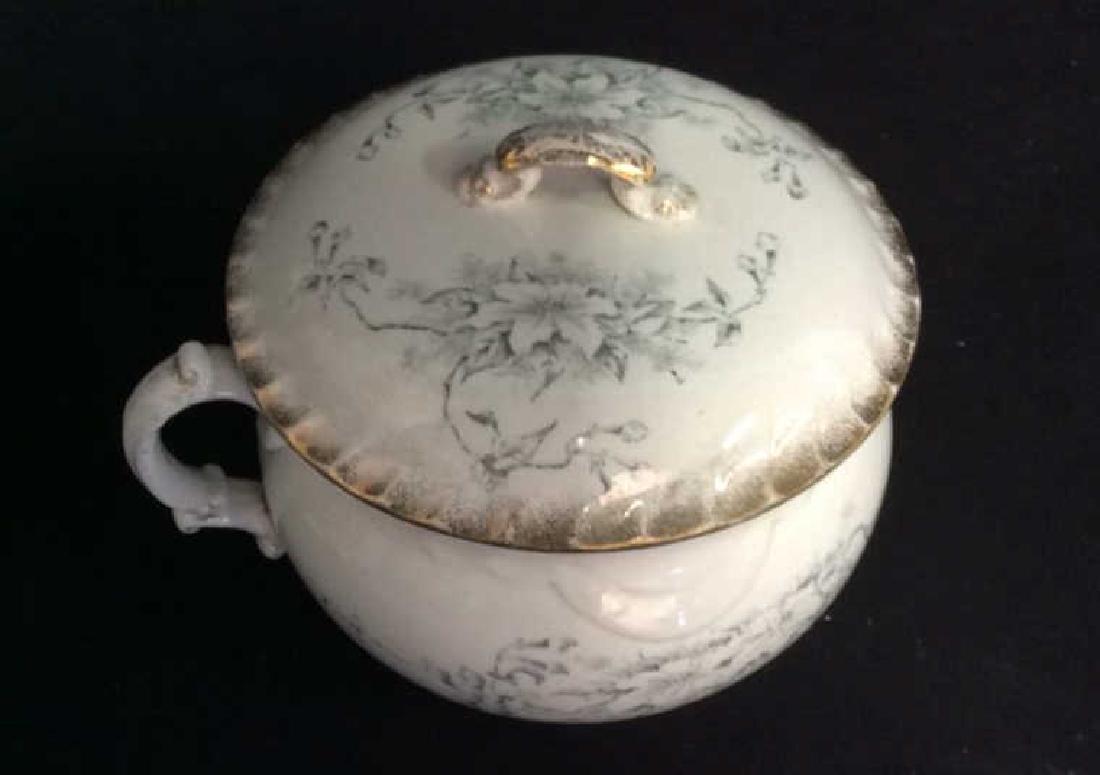 Vintage Porcelain Chamber Pot - 2