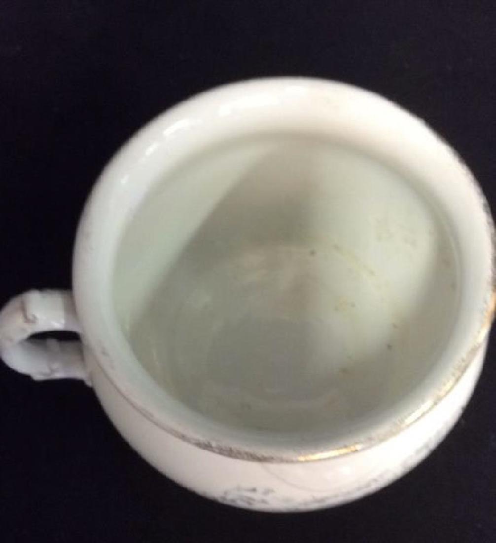 Vintage Porcelain Chamber Pot - 4