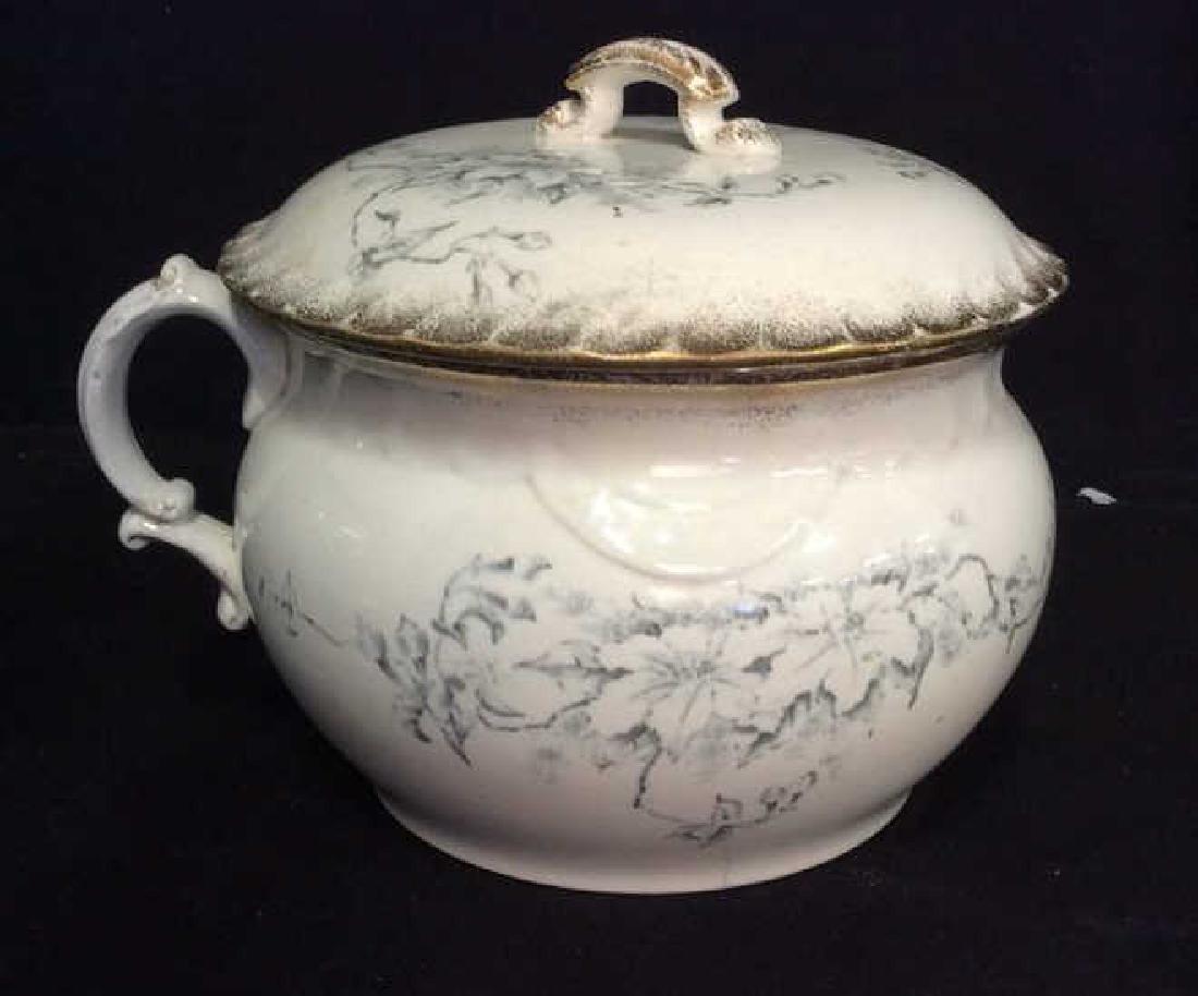 Vintage Porcelain Chamber Pot - 7