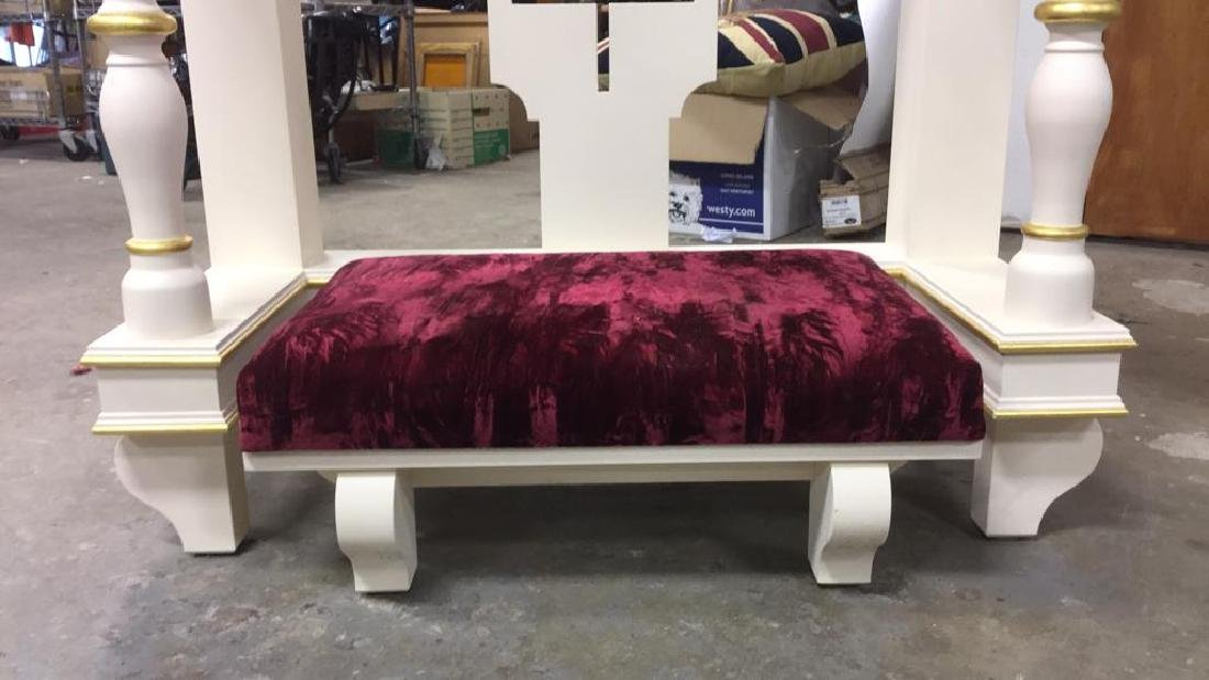 Custom Alter Prayer Kneeling Bench Table - 4