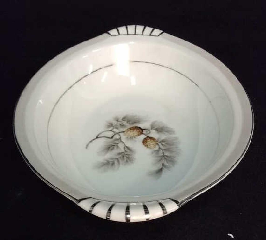Lot 2 Porcelain Cookware Serving Dishes - 2