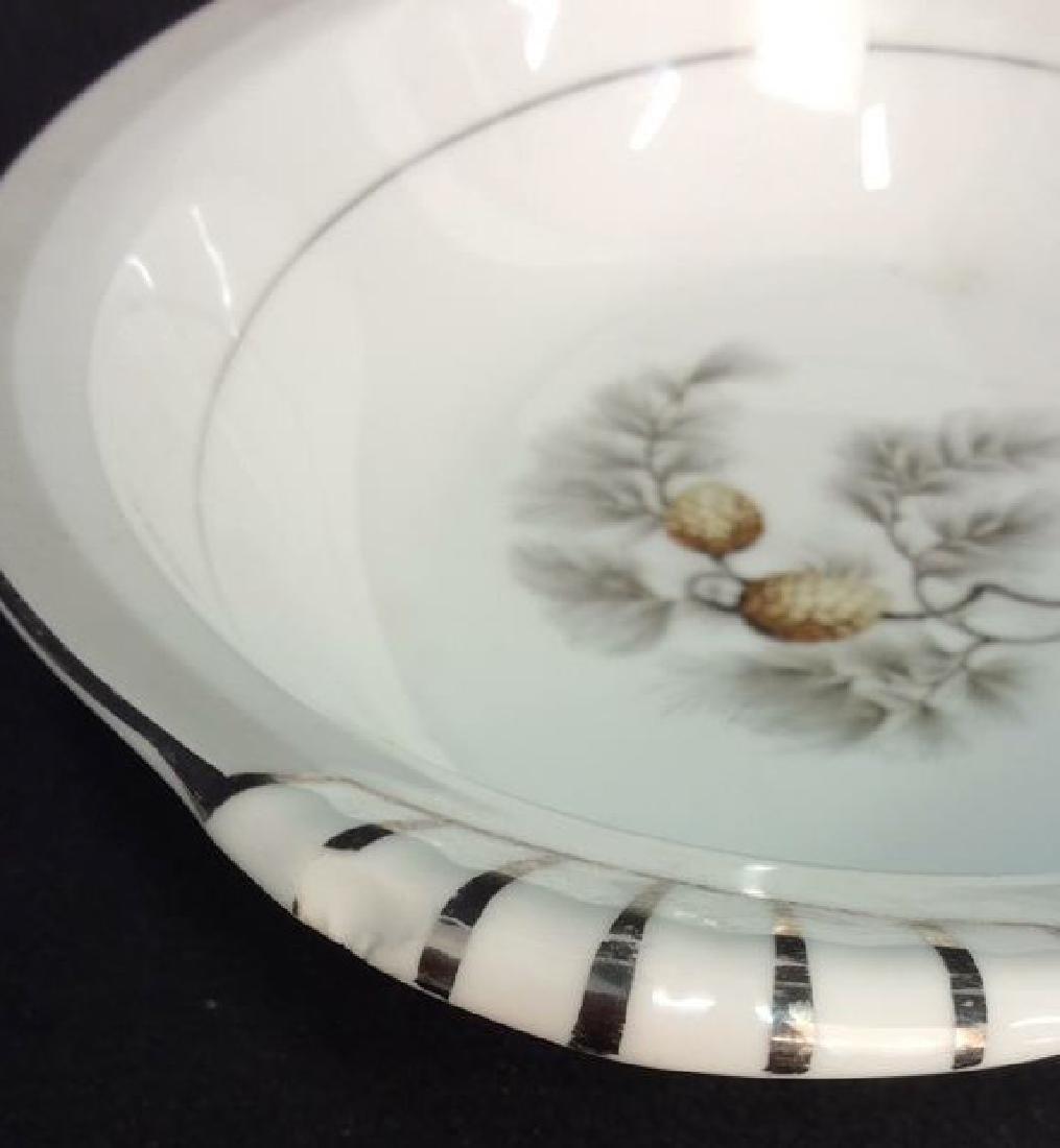 Lot 2 Porcelain Cookware Serving Dishes - 4